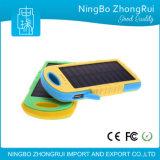 Batería solar de la potencia del cargador de la nueva de 8000 mAh de la energía solar de la batería batería externa impermeable del teléfono para todo el teléfono móvil