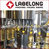 Máquina de rellenar del animal doméstico del petróleo automático lleno de la botella