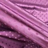 Punkt-Typ Jacquardwebstuhlspandex-Satin ahmte Seide für glatten Nightgown und Unterwäsche nach