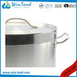 Un acciaio inossidabile di 04 stili ha smerigliato il POT delle azione di minestra della parte inferiore del Combine di conduzione di calore