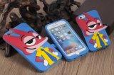 Caisse mignonne mignonne de silicones du dessin animé 3D de Zootopia de cas de téléphone cellulaire pour l'iPhone 7 plus 6 6s