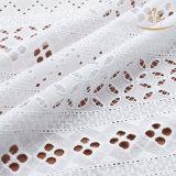 Ткань шнурка платья лета повелительниц хлопка способа H10012