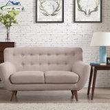 Europäische Freizeit-einfaches Wohnzimmer-Sofa-Gewebe-Sofa