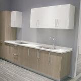 Gabinetes de cozinha à moda modernos da placa de partícula da mobília da cozinha