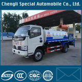 Carro de la regadera del chasis de Dongfeng 4X2 con el tanque de agua 5tons