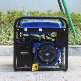 Gerador redondo do gás natural de fase monofásica 5kVA do frame do fornecedor experiente do bisonte (China) BS6500p 5kw