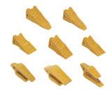 Замена 2713-0033 зубов ведра землечерпалки Doosan, переходника зуба Deawoo