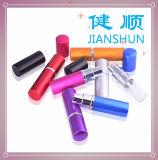 Verre à bouteilles réutilisable de jet de parfum d'atomiseur de qualité et mini bouteille en aluminium d'atomiseur de parfum