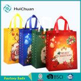 Sacchetto non tessuto caldo del regalo del sacchetto del sacchetto di natale di vendita