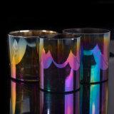 Envases de velas multicolores Envase de velas de vidrio