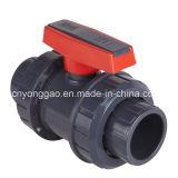 Vávula de bola verdadera de la unión del PVC para el abastecimiento de agua de la presión