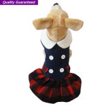Roupa inglesa do cão dos estilos do vestido do animal de estimação