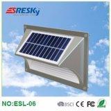 Lumières solaires pour la lumière d'opération de mur de jardin