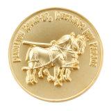 Heißer Verkauf personifizierte Zink-Legierungs-materielle runde Andenken-Münze