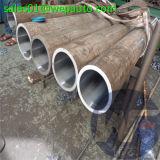 El cilindro afiló con piedra el tubo 301 del acero inoxidable del tubo