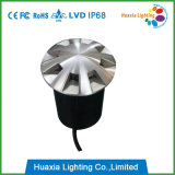 12V Ss304/316 LED 지하 빛을 점화하는 8개의 방향