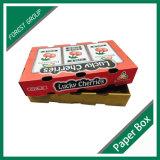 Caja de cartón al por mayor del diseño para la fruta y verdura