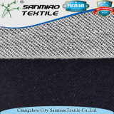 Changzhou hilados de distintos colores azul índigo jersey de punto Tela