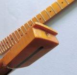 A frição da cor 22 do matiz do vintage inflamou a garganta Tele da guitarra do bordo