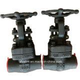 La norme ANSI a modifié le robinet d'arrêt sphérique de l'extrémité d'amorçage de l'acier du carbone A105 TNP
