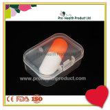 contenitore medico libero di recipiente di plastica di 5.5*4*2cm