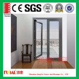 Дверь Casement супер качества алюминиевая сделанная в фабрике Китая