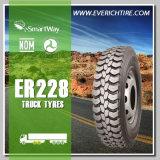 11r22.5 todos los neumáticos radiales del carro del neumático del descuento del neumático del terreno con término de garantía