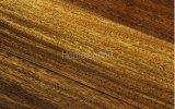 Проектированный деревянный настил/настил твёрдой древесины Okan Handscraped пола Iroko деревянный