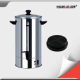 Acier inoxydable commercial électrique de 8 litres urne de café de générateur de café de 8 litres