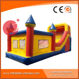 Aufblasbares Spielzeug-federnd springendes Schloss mit Plättchen für Kinder (T3-213)