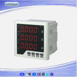 Compteur d'électricité réactif monté par panneau de Digitals monophasé