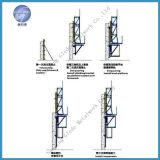 Cofragem de auto-escalada do suporte de escalada com sistema hidráulico