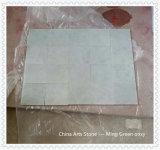 Mattonelle di marmo verde chiaro verdi cinesi di Ming
