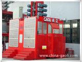 Elevador do edifício da construção de Gaoli Sc200/200 com padrão do certificado do Ce euro-