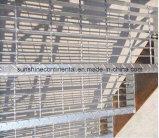 La INMERSIÓN caliente galvanizó las escaleras de acero de la rejilla