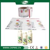 Étiquette de chemise de rétrécissement de Senstive de la chaleur de PVC avec 9 couleurs