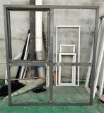 Ventana de aluminio - ventana del toldo con la devanadera