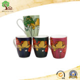 Le modèle neuf peut personnaliser la tasse en céramique de cuvette de tasse d'étiquette en céramique d'or