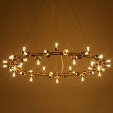 Moderner Leuchter der Glaskugel-LED für Hotel