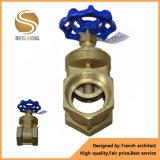 Válvula de porta de bronze para a água