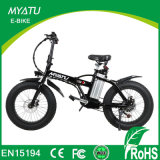 20 polegadas Folding Fat Tire Bicicletas elétricas Lithium Battery Bike Ce Certification