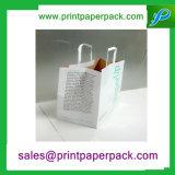 Decorativo Elaborar Durable bolsa de papel cosmético de la joyería