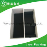 Rectángulo de empaquetado reciclado impresión de lujo de encargo de la manera