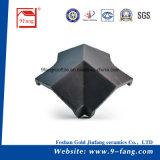Традиционный классицистический плоский тип плитка толя глины сделанная в строительном материале Китая
