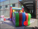 Castelo inflável do projeto 2017 novo combinado com corrediça (T3-520)