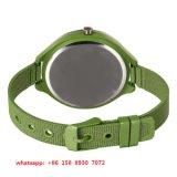 Reloj encantador del cuarzo con las correas del acero inoxidable para las mujeres Fs540