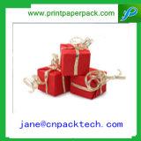 方法正方形の形ボックスきれいな包装のペーパーギフト用の箱