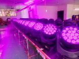 19PCS 12W LEDのズームレンズの移動ヘッドビームライト