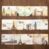 Impression faite sur commande de cartes de /Gift de cartes de voeux de carte postale de type neuf