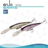 釣り人のVmc三重のホック(SB2580)が付いている選り抜きプラスチック魅惑の人工的な堅い餌の深く潜水できる釣り道具